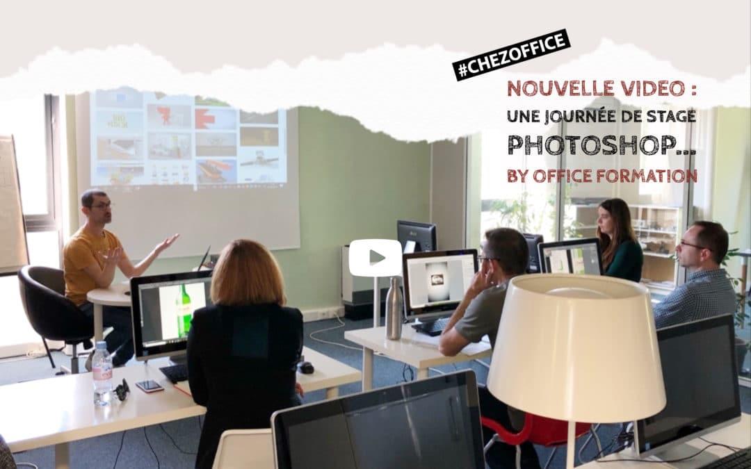 Nouvelle vidéo : «Une journée de formation Photoshop… by Office Formation»