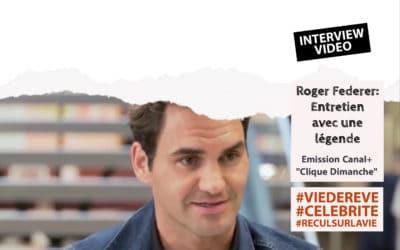 Vidéo : Entretien avec une légende, Roger Federer