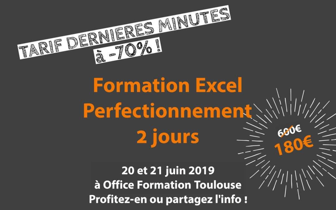 (Très) BON PLAN : Formation Excel Perfectionnement à -70% !