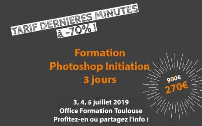 (Très) BON PLAN : Formation Photoshop Standard à -70% !