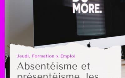 Sélection d'article : Absentéisme et présentéisme, frères ennemis de la performance des entreprises
